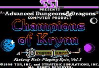 Video Game: Champions of Krynn