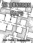 RPG Item: 33 Dungeon Maps