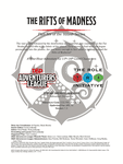 RPG Item: CCC-TRI-21: The Rifts of Madness