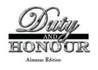 Series: Duty & Honour Almanacs