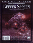 RPG Item: Horror on the Orient Express Keeper Screen