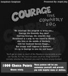 RPG Item: Courage the Cowardly Dog