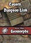 RPG Item: Heroic Maps Geomorphs: Cavern Dungeon Link