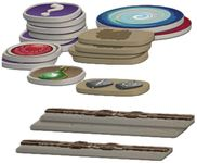 Board Game Accessory: Arcadia Quest: Plastic Token Pack