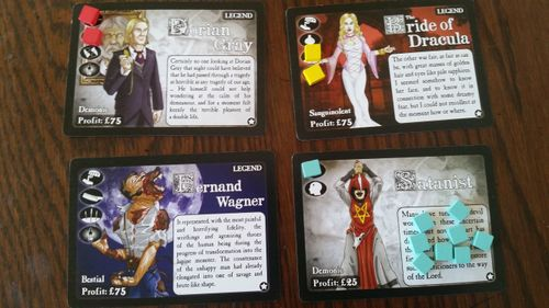 Board Game: Gothic Doctor: Demons & Partial Treatments Expansion