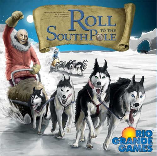 Board Game: Roll to the South Pole