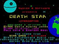 Video Game: Death Star Interceptor